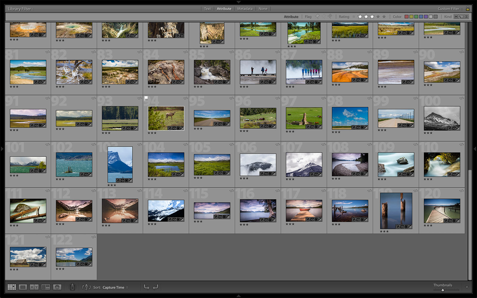 Adobe Lightroom fullscreen