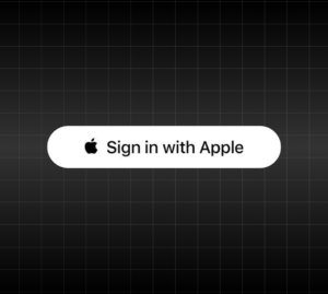Sign with Apple